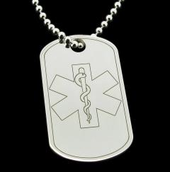 Medic, SOS, Medical, Epilepsy, Alert Tag photo 1
