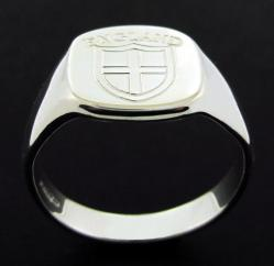 Sterling Silver England Ring photo 2
