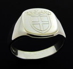 Sterling Silver England Ring photo 1