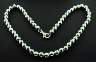 Sterling Silver 8mm Ball Necklace