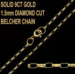 1.5mm Diamond Cut Belcher